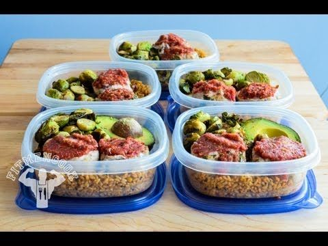 Turkey Meat Loaf Minis Meal Prep #prepday