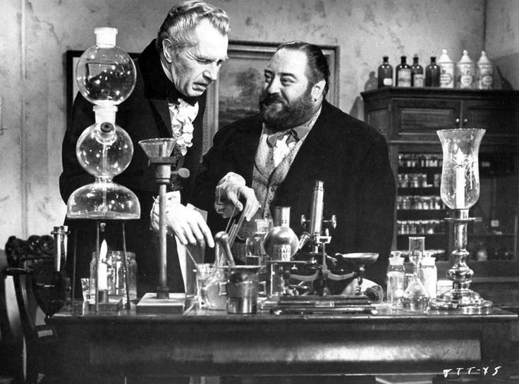 Vincent Price, Sebastian Cabot– Twice-Told Tales