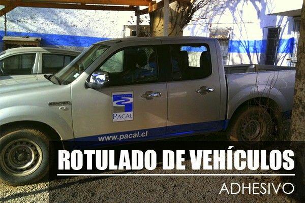 Rotulado de vehiculos