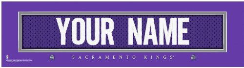 NBA Jersey Stitch Print Sacramento Kings Personalized Framed * Click image to review more details.