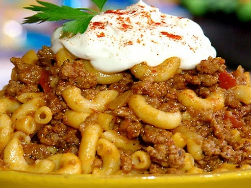 Goulash - Paula Deen: Food Network, Sour Cream, Ground Beef, Bobby Goulash, Comforter Food, Goulash Recipes, Groundbeef, Paula Deen, Pauladeen