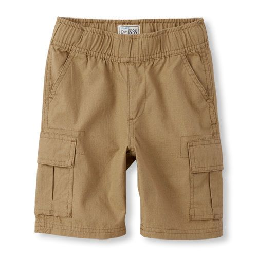 Boys Boys Pull-On Woven Cargo Shorts - Tan - The Children's Place