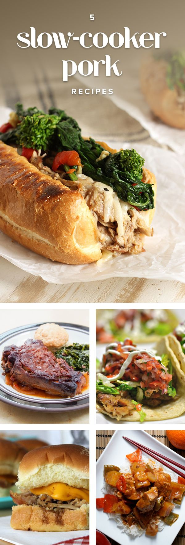 5 slow-cooker pork recipes that take dinner to the next level