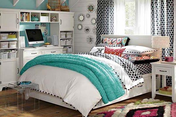 Modern Bedroom Ideas for Teenage Girls Fancy Ornaments
