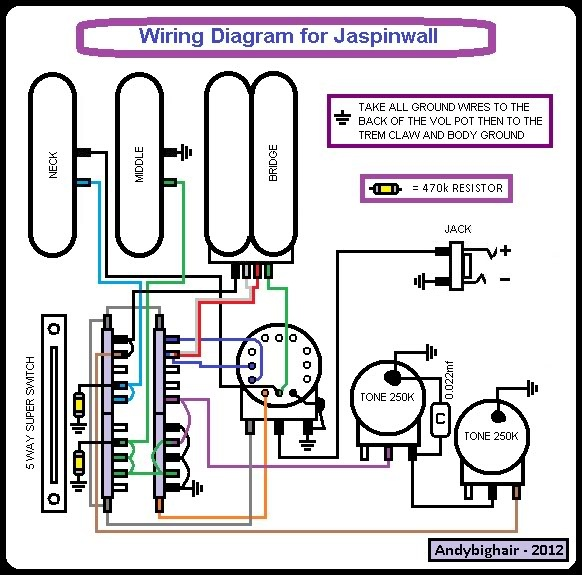 telecaster modern player wiring diagram standard