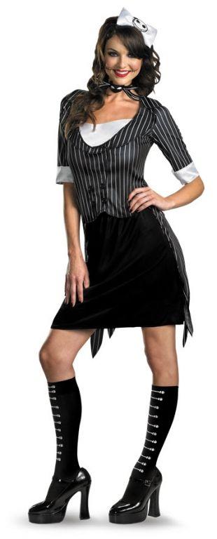 Jack Skellington Sexy Adult Costume,$65.97