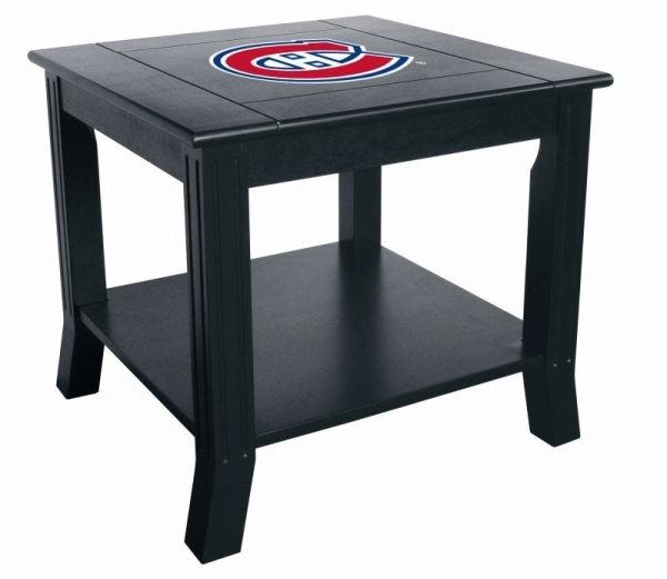 Montreal Canadiens NHL Living Room/Office End/Side Table