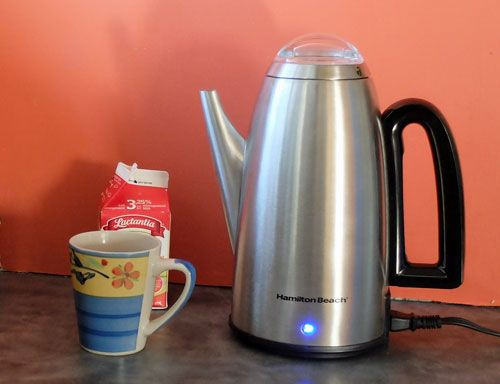 While dismissed by many coffee experts, coffee percolators continue to be popular among two different groups.