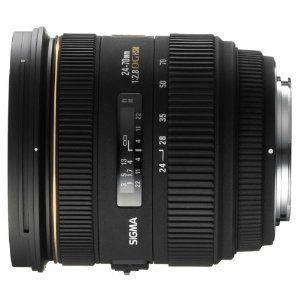 Sigma 24-70mm f/2.8 IF EX DG HSM AF Standard Zoom Lens for Canon Digital SLR Cameras,
