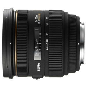 Sigma 24-70mm F2.8 IF EX DG HSM Zoom Lens for Canon: Amazon.co.uk: Camera & Photo