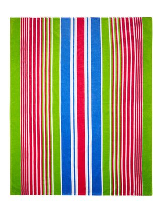 Track Stripe Beach Towel for Two by Buettner at Gilt