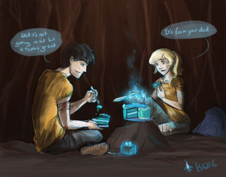 BIRTHDAY IN TARTARUS!Happy Birthday Percy Jackson, Poseidon Hey, Percy ... Percy And Annabeth Fall Into Tartarus