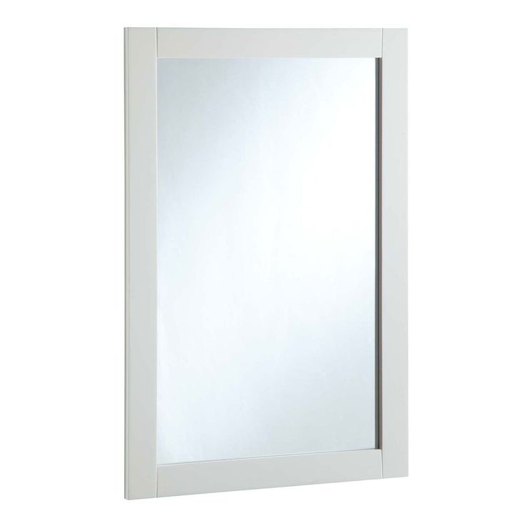 Image On  Inch By Inch Vanity Mirror Semi Gloss White Design House Vanity Mirrors Mirrors