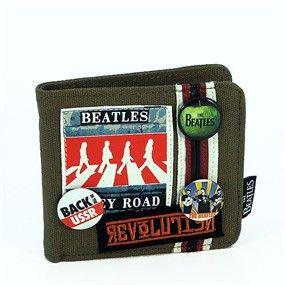 Una divertida cartera con una de las imágenes mas conocidas de los Beatles cruzando el paso cebra de Abbey Road, así tus tarjetas, billetes y monedas tendrán un aire muy especial. 25,50 €uros.