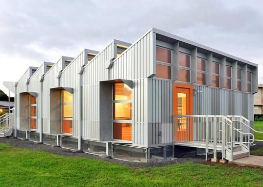 Hawaii: Energy-positive portable classroom produces four times more energy than it needs http://inhabitat.com/energy-positive-portable-classroom-produces-four-times-more-energy-than-it-needs/…