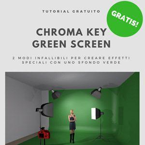 Chroma key, green screen video: 2 modi infallibili per creare effetti speciali utilizzando uno sfondo verde