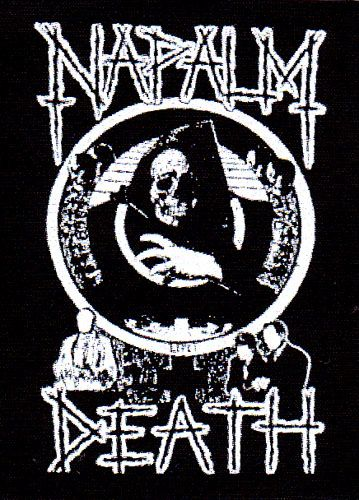 Napalm death life cloth patch cp963 · metal band logosmetal bandsnapalm deathband stickersband