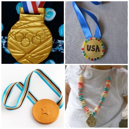 Everyone Wins: 10 DIY Gold Medal Kids Crafts| Spoonful