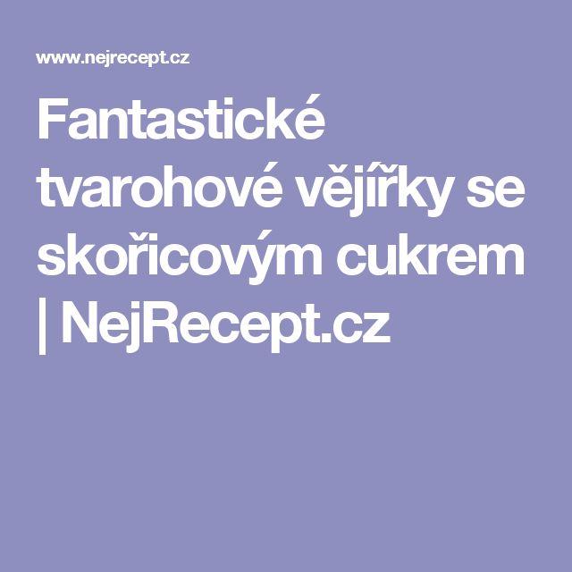 Fantastické tvarohové vějířky se skořicovým cukrem | NejRecept.cz