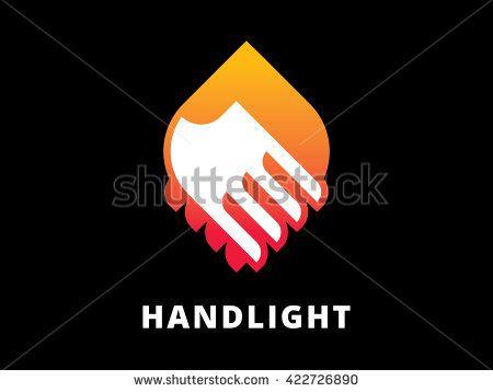 Handshake logo template