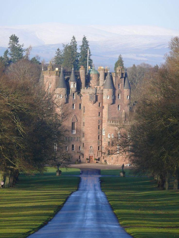 Glamis castle (pronounced Glams) Scotland