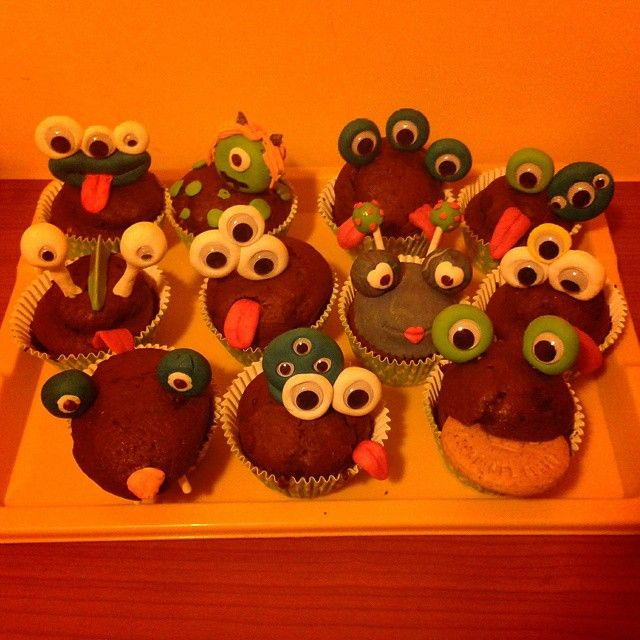 cupcakes monsters