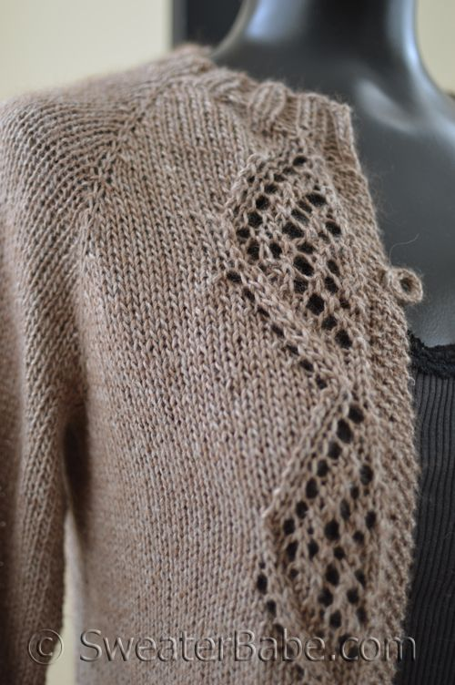 Knitting pattern preview and Giveaway, including this stunning #175 Diamond Lace Top-Down Cardigan.