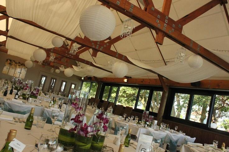#3tieredvases #singaporeorchids #weddingcentrepeice #chinesepaperlanterns