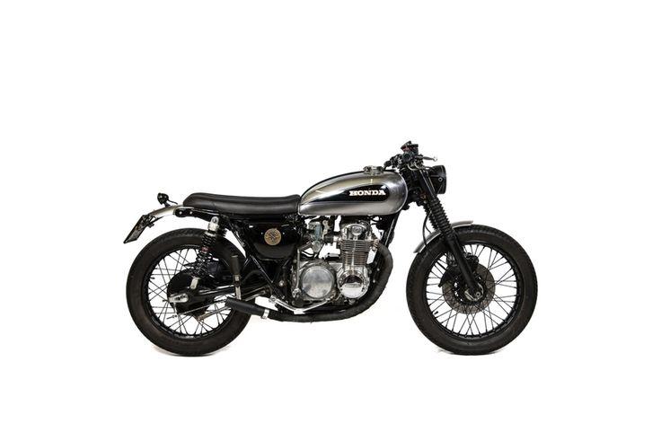 ϟ Hell Kustom ϟ: Honda CB500 By Officine Sbrannetti