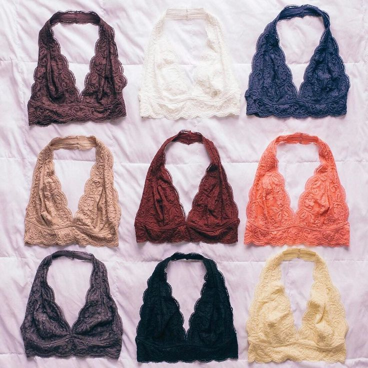 Everybody's favorite bra is on sale! The Out From Under Lace Halter Bra is now only $16. #UOonYou