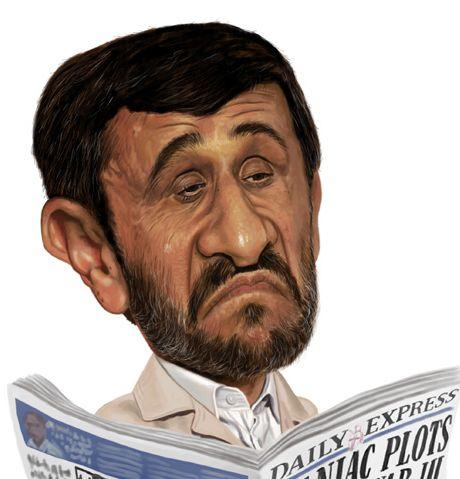 [ Mahmoud Ahmadinejad ]  - artist: Neil Davies - website: http://singleservingjack.blogspot.com/