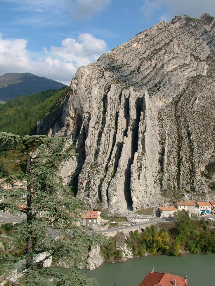 Sisteron - a strange place geolog-ically - and it's in France - there is no downside to going there