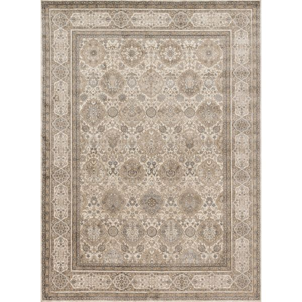 Kendrick Sand Taupe Rug 96 X 13 By Alexander Home RugFamily RoomDining