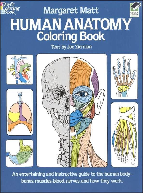 Human Anatomy Coloring Book 4 25 Anatomy Coloring Book Vintage Coloring Books Coloring Books