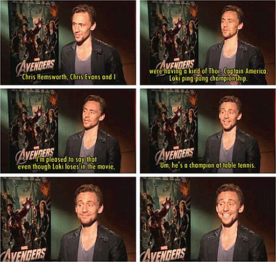 Tom Hiddleston:D