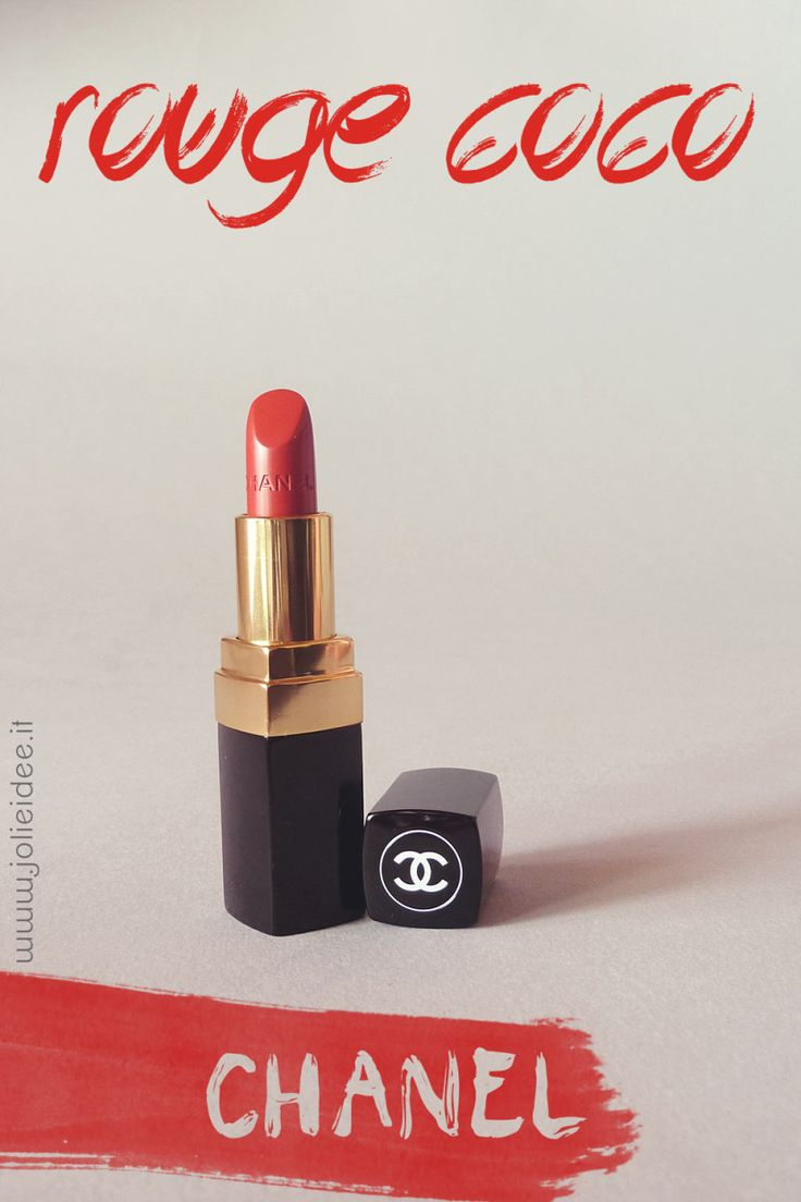 Review Rossetto Lipstick Rouge Coco Chanel 19 Gabrielle #Chanel #lipstick #makeup