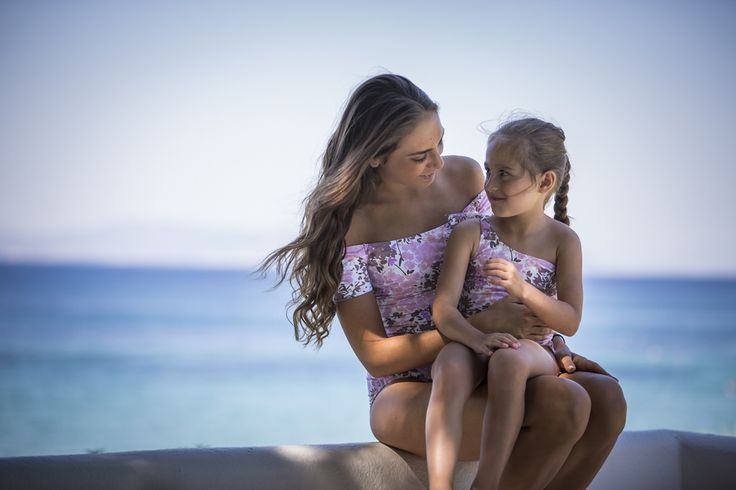 Emmanuela swimwear brings us closer to summer with the amazing new arrivals for moms & daughters! s