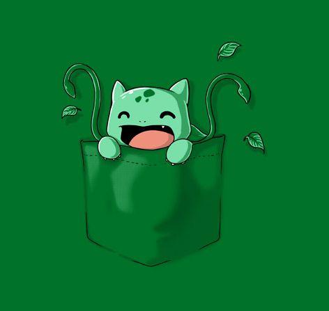 Pocket Monster 3 T-Shirt $11 Pokemon fake pocket tee at TeeFury $11
