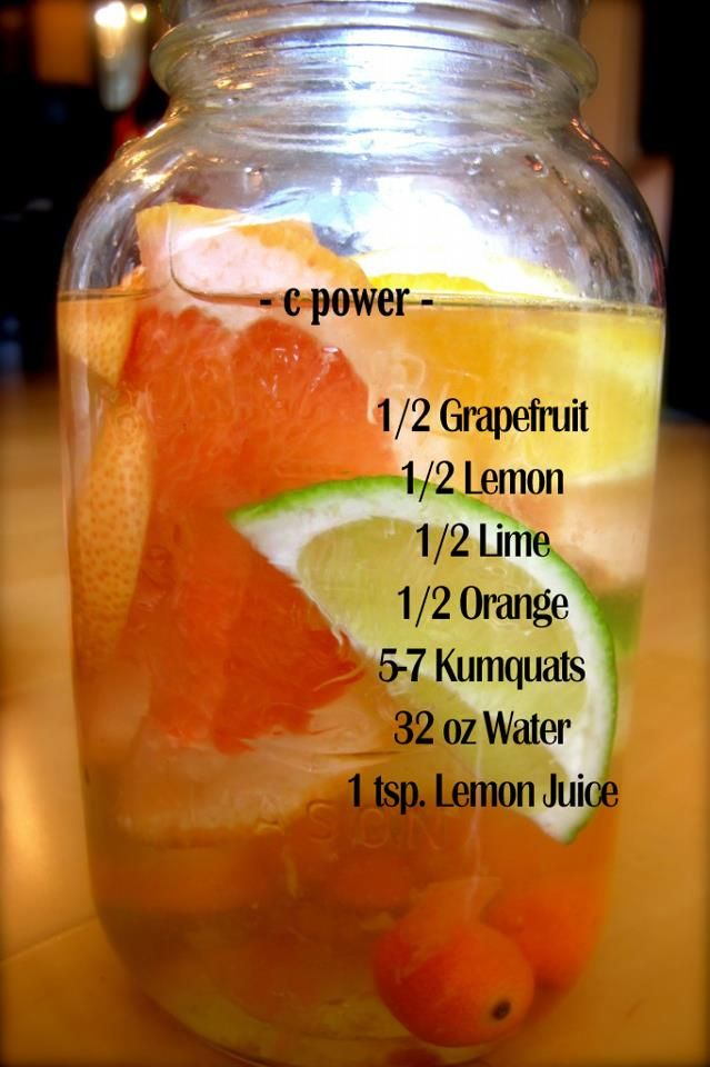 Here's another tasty water powered recipe that will help keep away spring/summer colds, assist in maintaining a healthy weight, and will help prevent dehydration especially in the warmer months ahead. You can't go wrong by drinking plenty of water and getting your natural vitamin C!