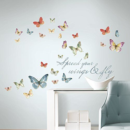 1000 Ideas About Butterfly Bedroom On Pinterest Girl