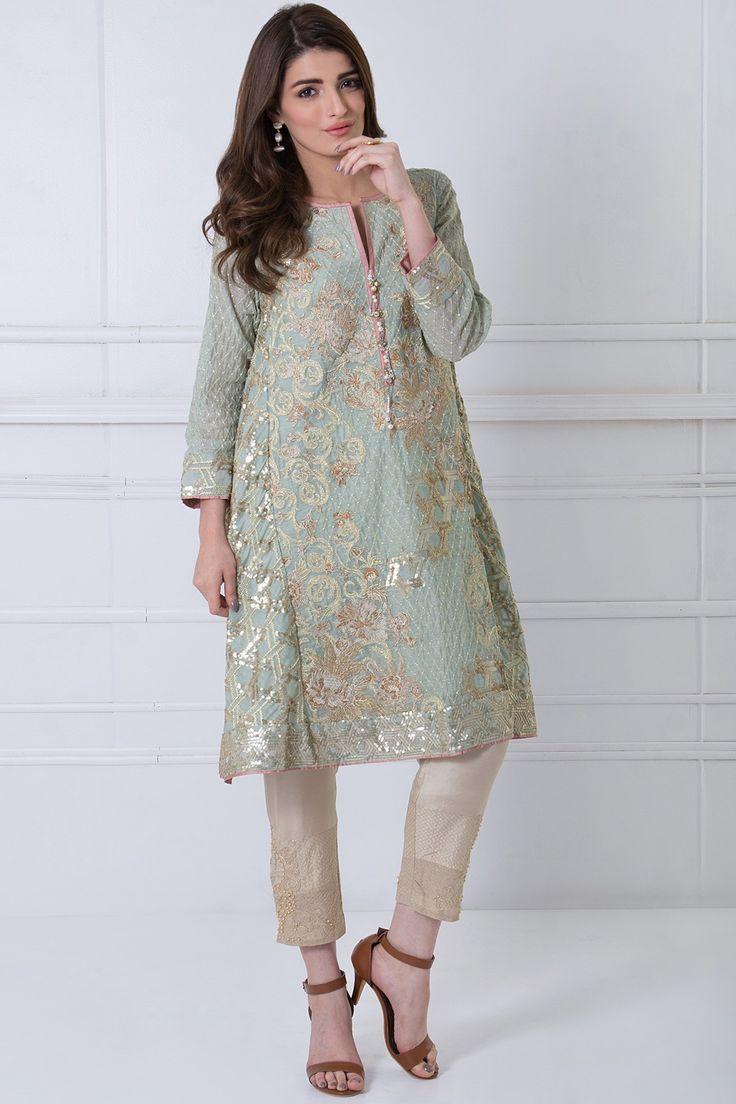 Khaadi -  Embroidered Kurta - Women - New Arrivals