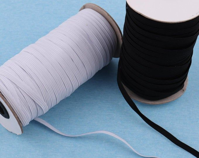 1 4 Elastic Cord For Masks Braided Stretch Band Strap Roll For For Diy Masks Sewing Knitting And Arts Crafts Us Stock Fast Shipping In 2020 Elastic Elastic Rope Bead Crafts