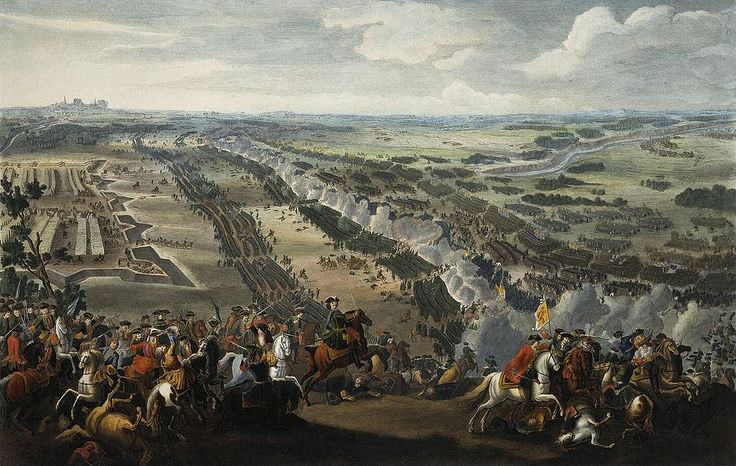 The Battle of Poltava by Denis Martens the Younger, painted 1726 Date 27 June 1709 (O.S.) 28 June 1709 (Swedish calendar) 8 July 1709 (N.S.) Location Poltava, Cossack Hetmanate (present–day Ukraine) Result Decisive Russian victory Destruction of Swedish continental army Loss of Cossack Hetmanate autonomy Charles XII of Sweden flees and goes in exile