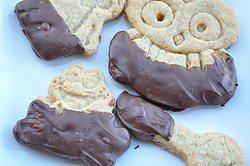 Biscotti vaniglia e cioccolato