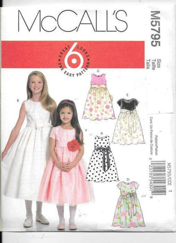 5955887fea6cd Girls Childrens Lined Fancy Dresses