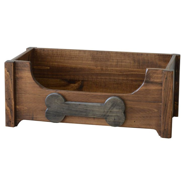 2 Day Designs Rustic Dog Toy Chest - DB