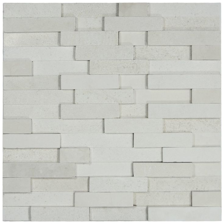 White Brick Stone Tile