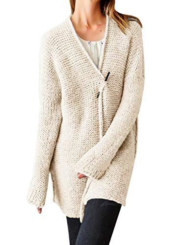 Great for Farktop Womens Long Sleeve Open Front Cardigan Sweaters Cute  Shawl Chunky Knit Solid Outerwear Coats online.   27.98  topstorehits from  top store d666850e0