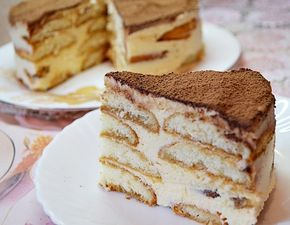 Торт «ТИРАМИСУ»  ( вкуснейший  рецепт без сырых яиц)