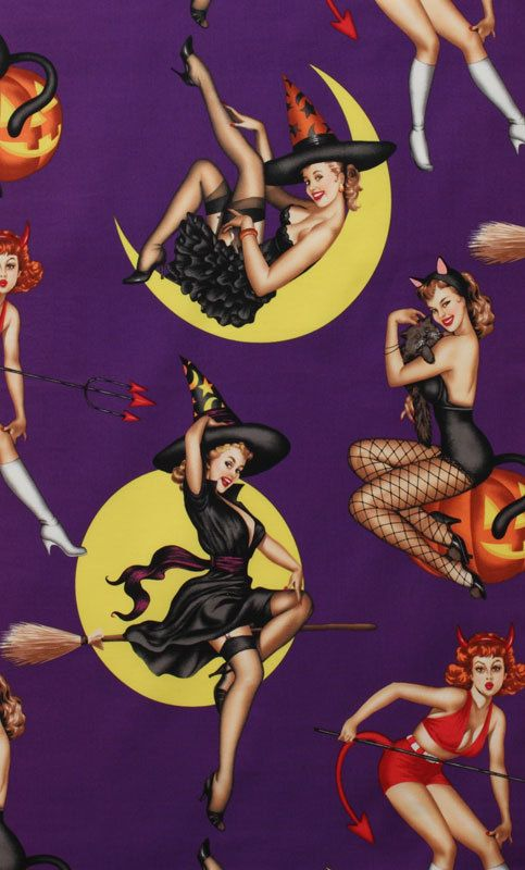 NEW  Alexander Henry Fabric  Bewitched  by BelloBerryFabricShop, $8.25